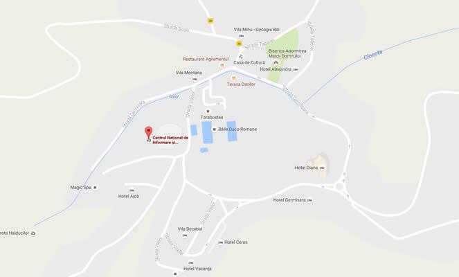 map-regiune