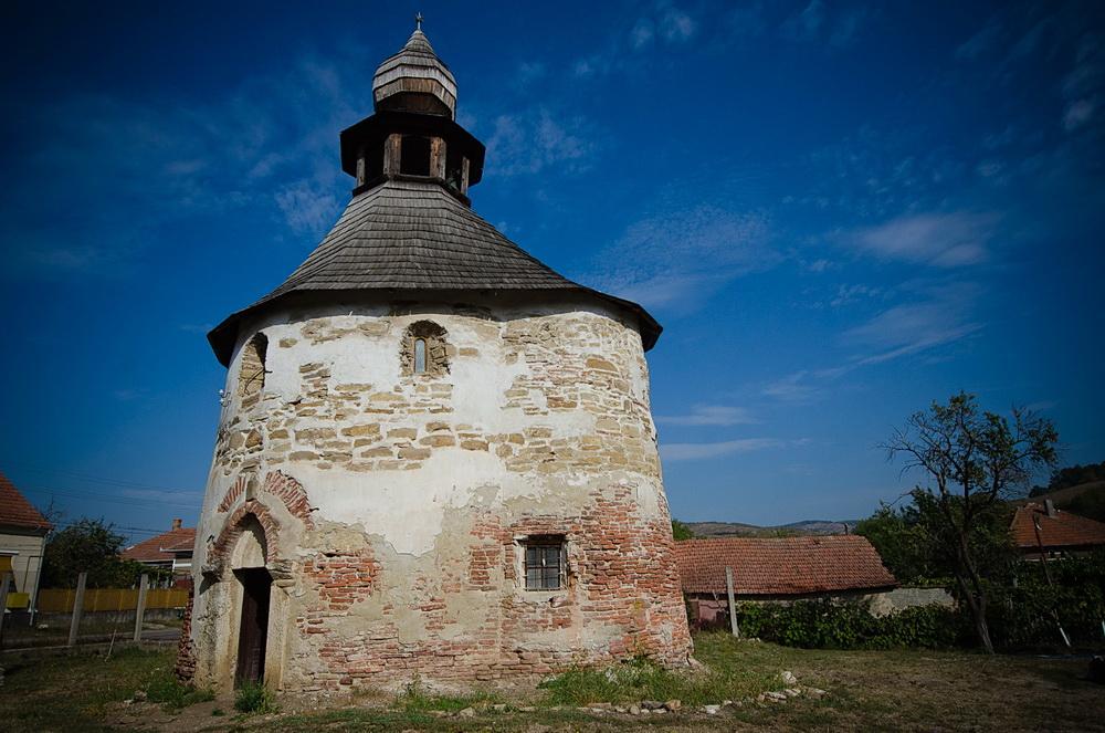 Die romanische Kapelle Romanică oder der Rundbau